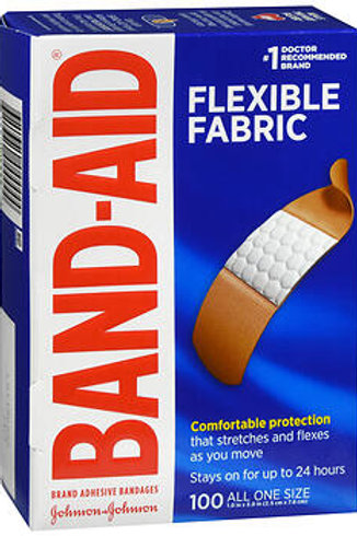Band-Aid Flexible Fabric 1X3IN