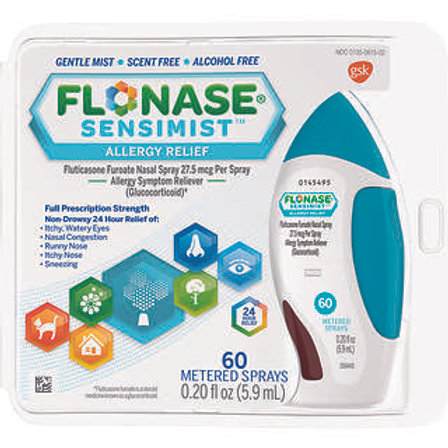 Flonase Sensimist Spray 60ct.