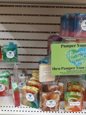 Pampered Hearts Soap