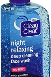 Clean and Clear Night Relaxing Deep Cleaning Face Wash
