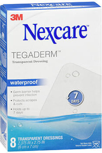 Nexcare Tegaderm 8 ct. 2.375INX2.75IN