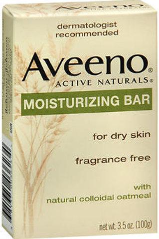Aveeno Active Naturals Moisturizing Bar Fragrance-Free