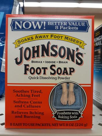 Johnson's Foot Soak