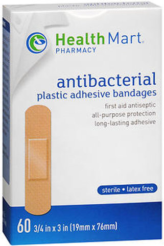 HM Plastic Bandages 3/4x3in