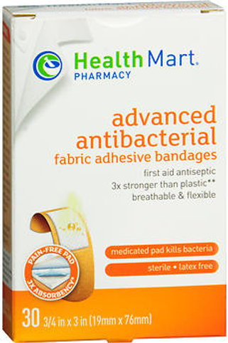 HM Flexible Fabric Bandages 3/4INPAIN-FREE FILM: GENTLE, NON-STICK FILM PROTECTS