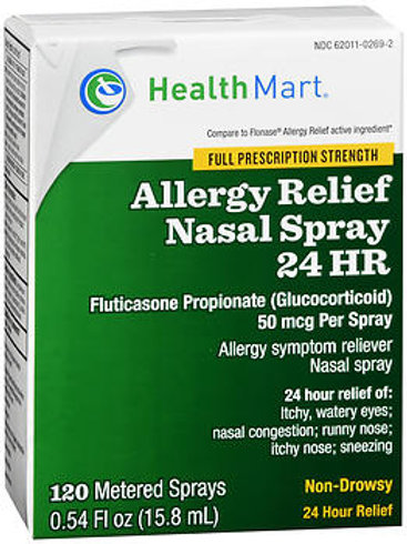 HM Fluticasone Nasal Spray 120 ct.