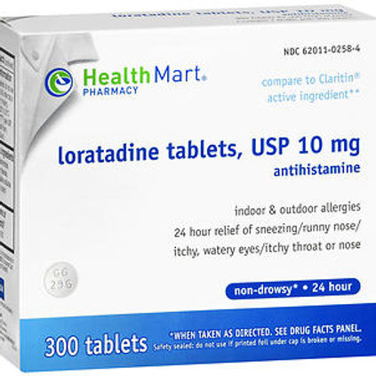 HM Loratadine Tablets 300 ct.