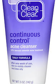 Clean and Clear Acne Cleanser