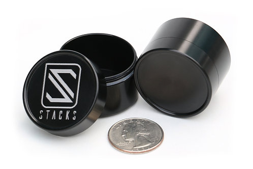 Stacking canister 3626 Black anodize
