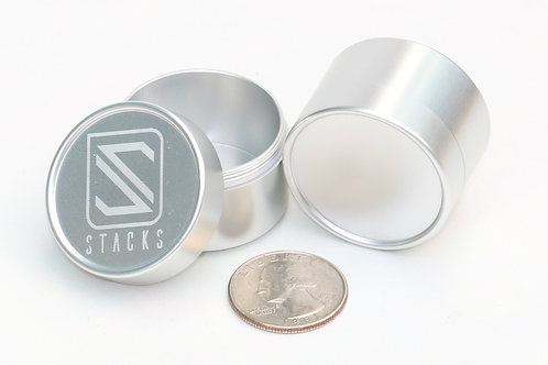 Stacking canister 3626 Clear anodize