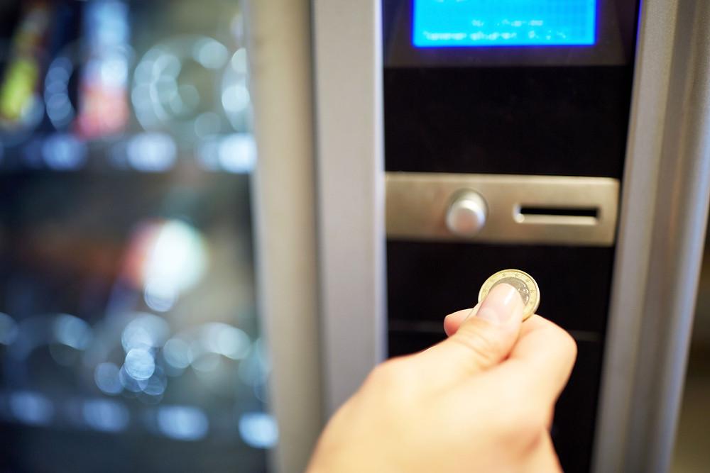 maquina de vending maquina expendedora comida basura