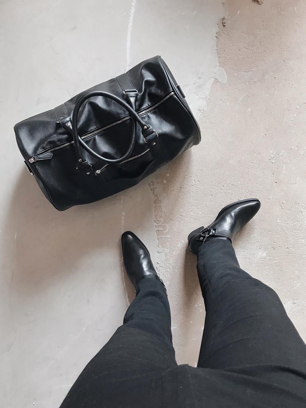 Sam Barnes FTM Top Surgery Packing List Bag