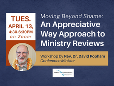 Reflections on Ministry Reviews + Upcoming Workshop
