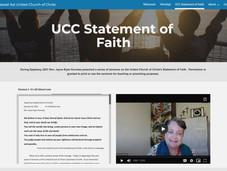 Sermon Series on UCC Statement of Faith