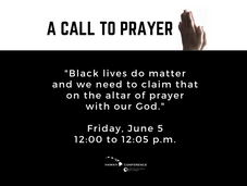 Call to Conference-Wide Prayer