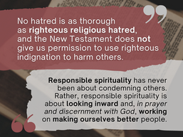 Reflections on Responsible Spirituality