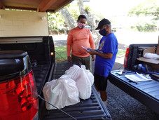 Food Distribution Drive by HCUCC Disaster Ministries a Success