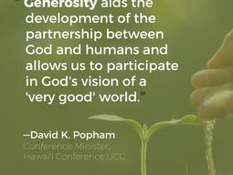 A Theology of Generosity