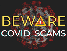 Be Aware of COVID Scammers
