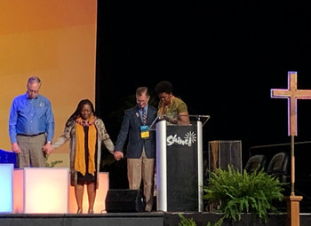 General Synod Elects Officers and Calls for Justice