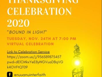 2020 Interfaith Thanksgiving Celebrations