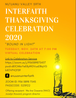 2020 Interfaith Thanksgiving Celebrations