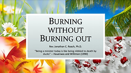 Burning out without burning out presenta