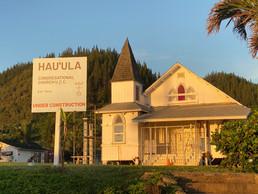Hau'ula Church Under Construction