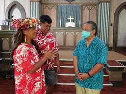 Rennie Mau installed at Ewa Community Church