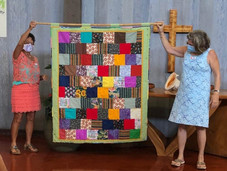 Kōloa Union Prayers and Squares Ministry Turns Scraps into Quilts