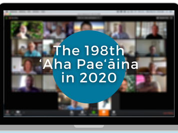 Reflections on a Virtual 'Aha Pae'āina