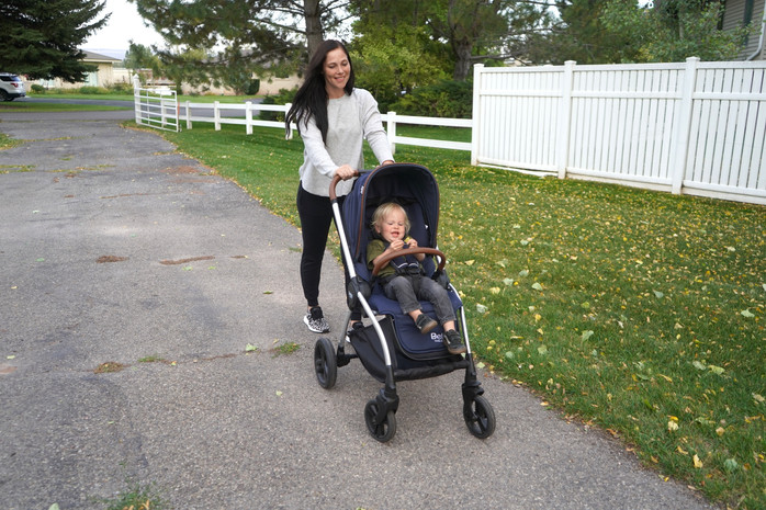Delta Children Revolve vs. Bugaboo Bee 5 Stroller Comparison