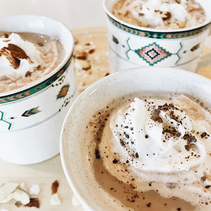 Simple and Light Hot Chocolate! 3 Ways!