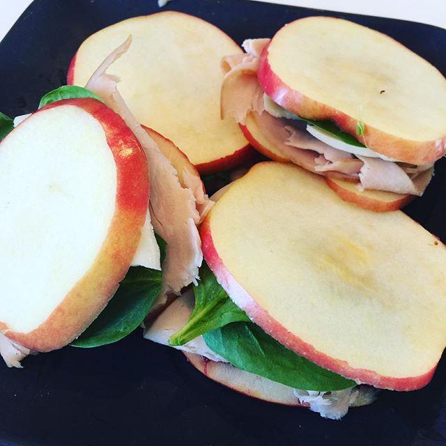 Apple Sandwiches