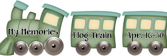 My Memories April Designer Train