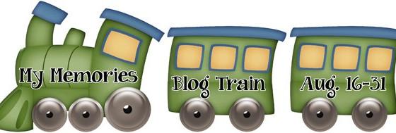 My Memories August Designer Train
