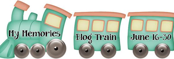 My Memories June Designer Train
