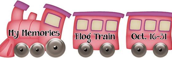 My Memories October Designer Train