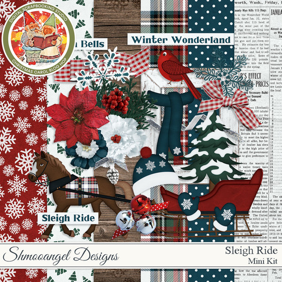 Christmas Carol Blog Hop