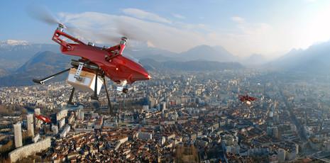 Drone logistics