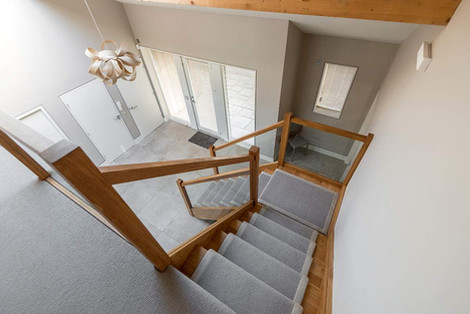 Hill View House stairs