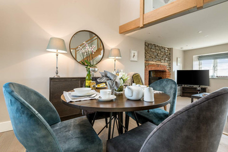 Dining in Stone Cottage