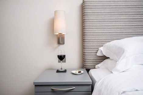 Hill View House bedside table