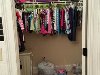 A Girl's DIY Closet Dream (Wall 1)