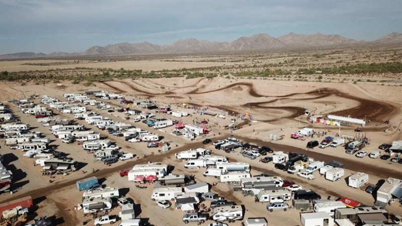 Arizona Cycle Park in Buckeye, Ariz., will play host the first of 57 different Area Qualifiers this weekend, Feb. 10 and 11. Photo courtesy of Arizona Cycle Park