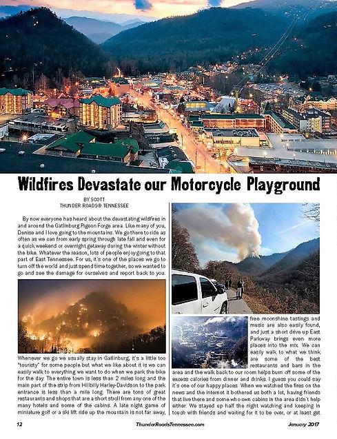 Smoky Mountain Wildfires