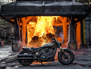 Indian Motorcycle, Jack Daniel's and Klock Werks Kustom Cycles Honor First Responders with Limited E