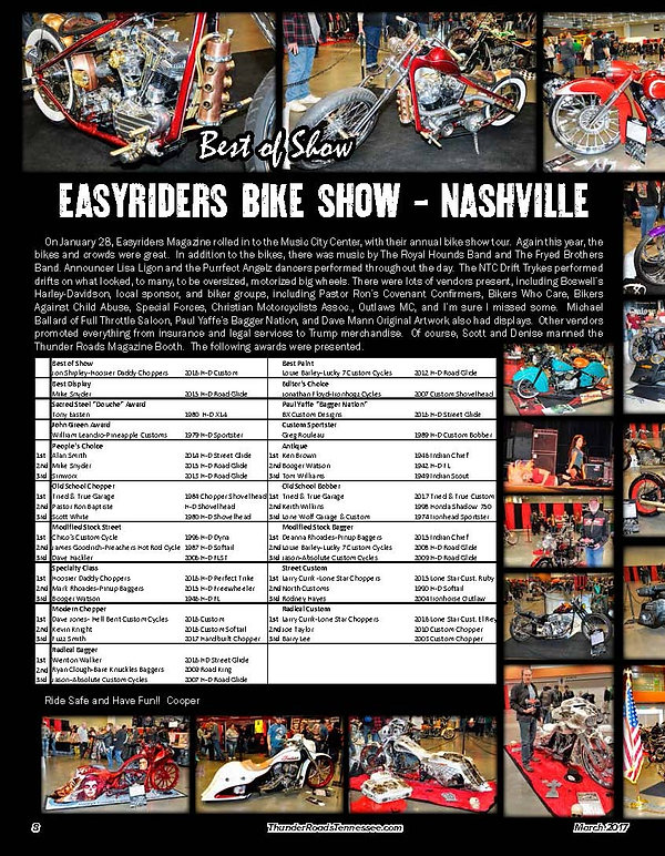Easyriders Bike Show