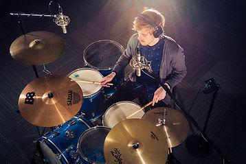 Recording Studio Drummer