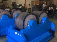 Turbine Rotor Roll Repair